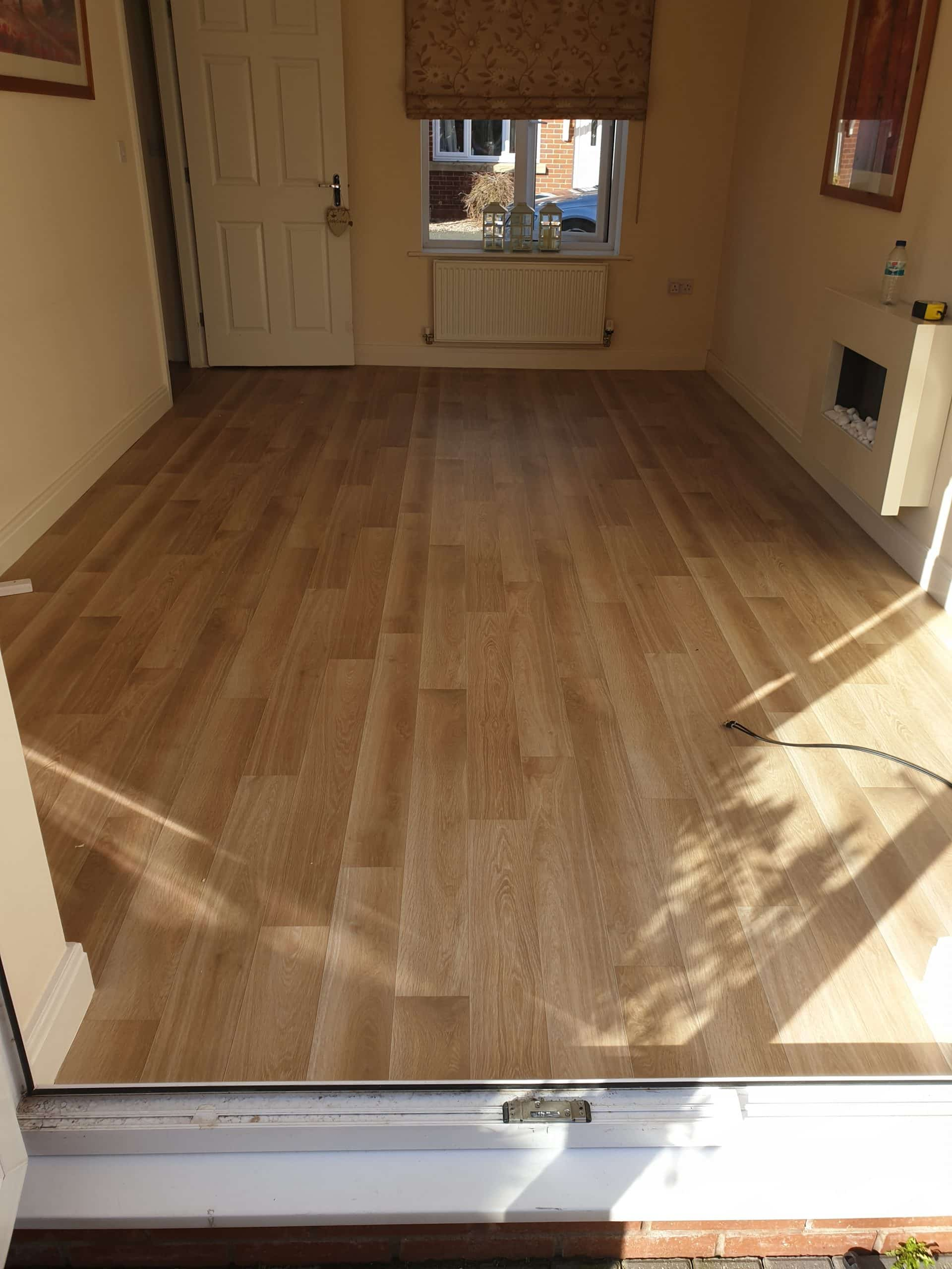 Lifestyles vinyl floor living room idea Wirral
