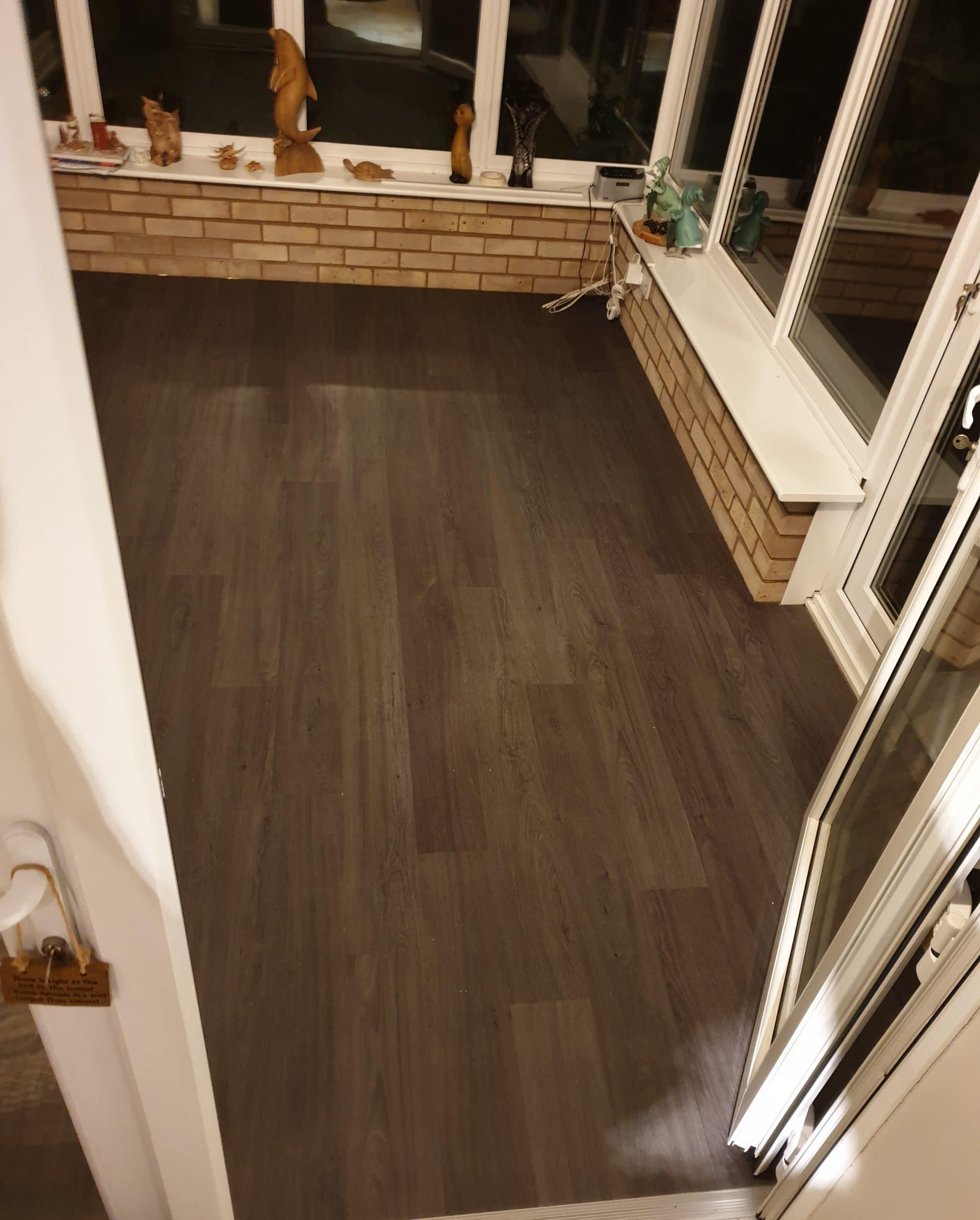 LVT Luxury Vinyl Tile conservatory ideas Wirral