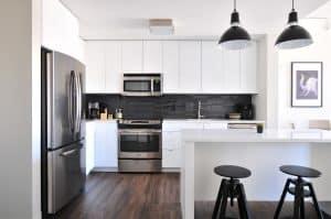 new build extension kitchen flooring