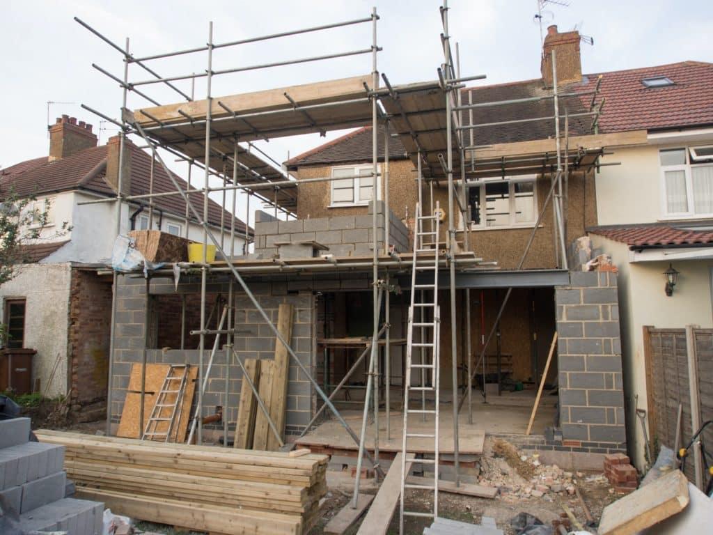 new build extension flooring