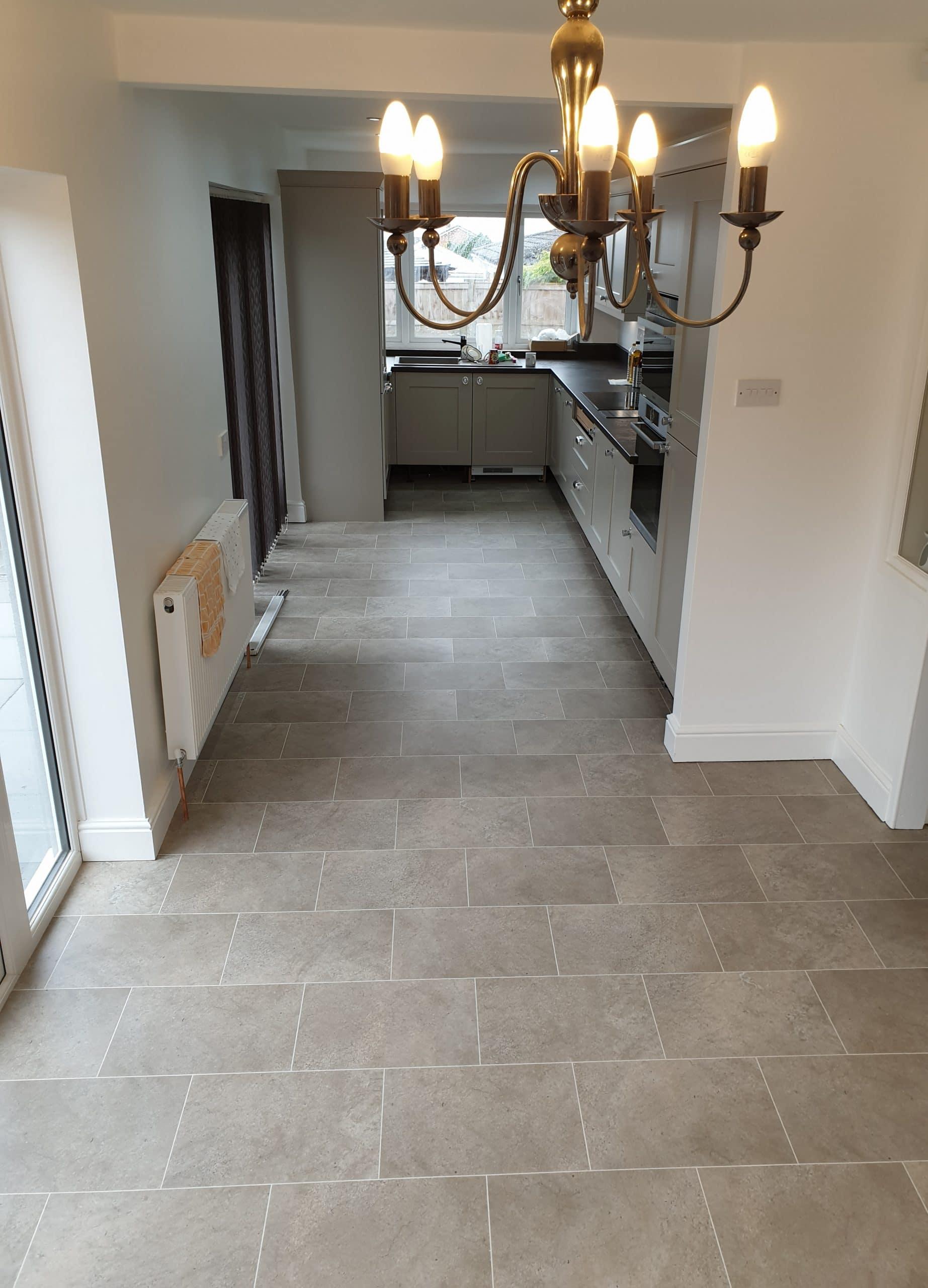 karndean vinyl tile Wirral kitchen flooring