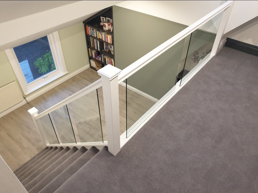 Quickstep laminate Wirral wool carpet shop builder attic conversion wirral