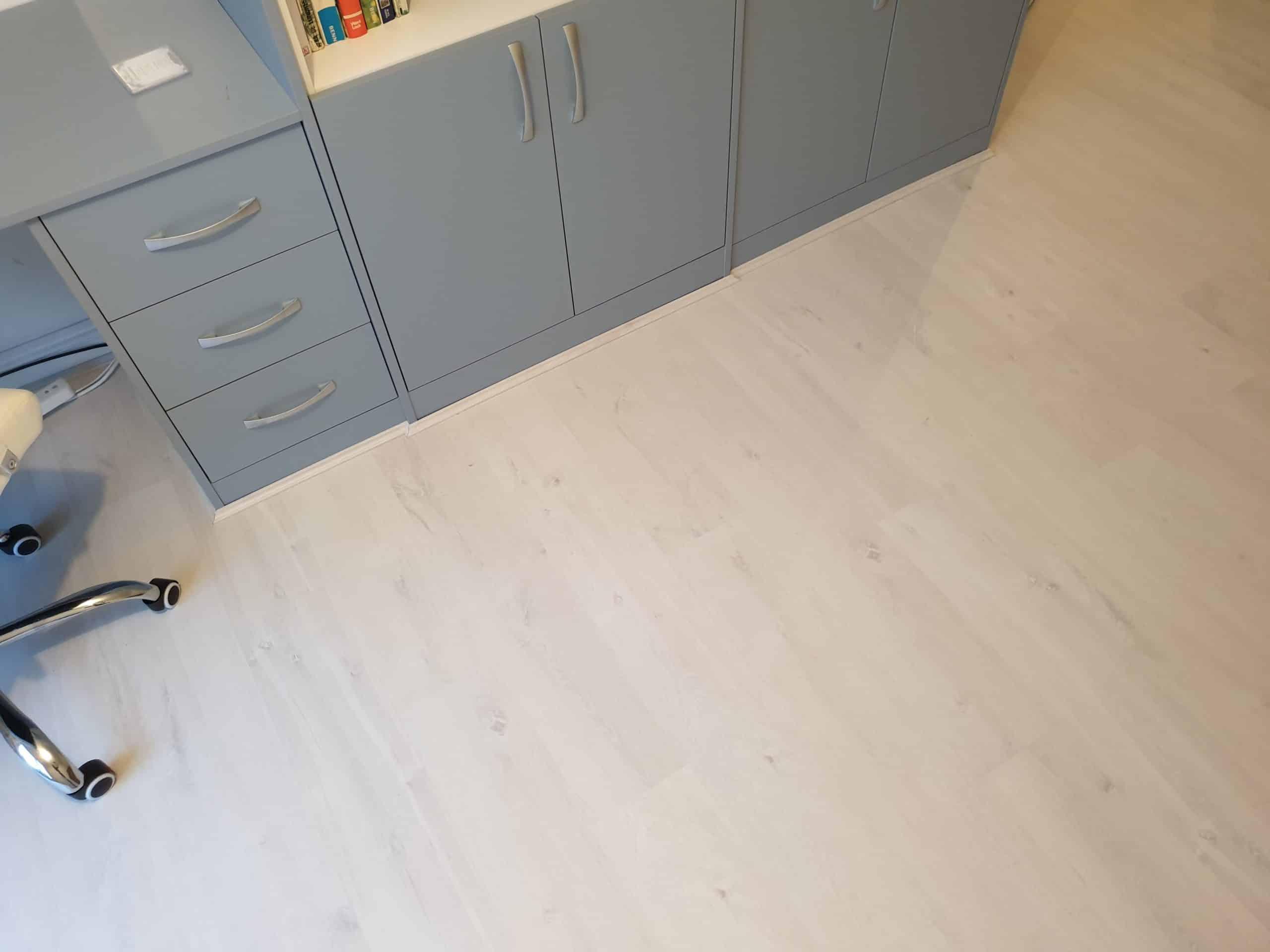 White laminate wooden floor wirral